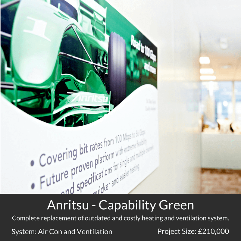 Anritsu Capability Green Luton Air Conditioning