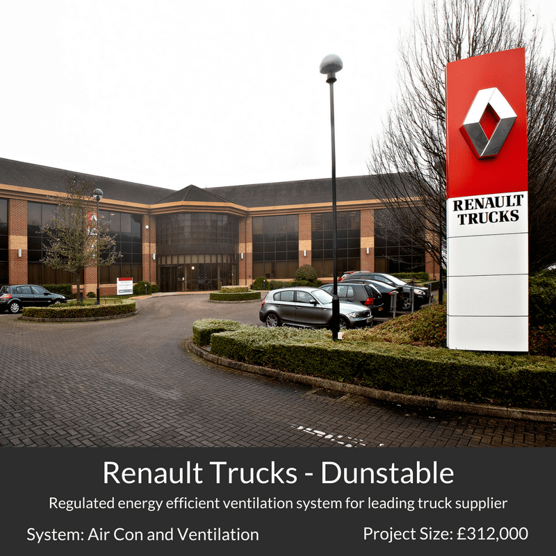 Renaul trucks air conditioning heating