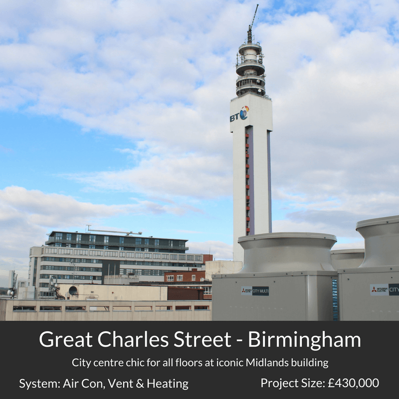 Great Charles Street Birmingham