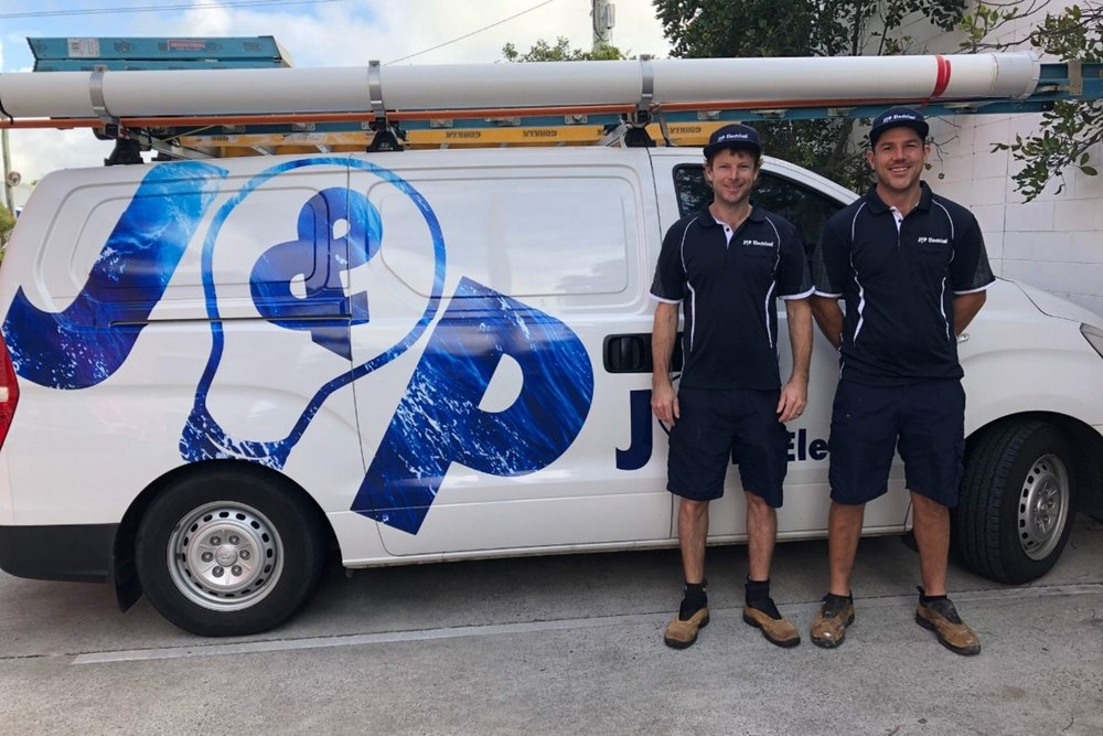 james Eadie & Paul Fleischer | A Grade electrical contractors