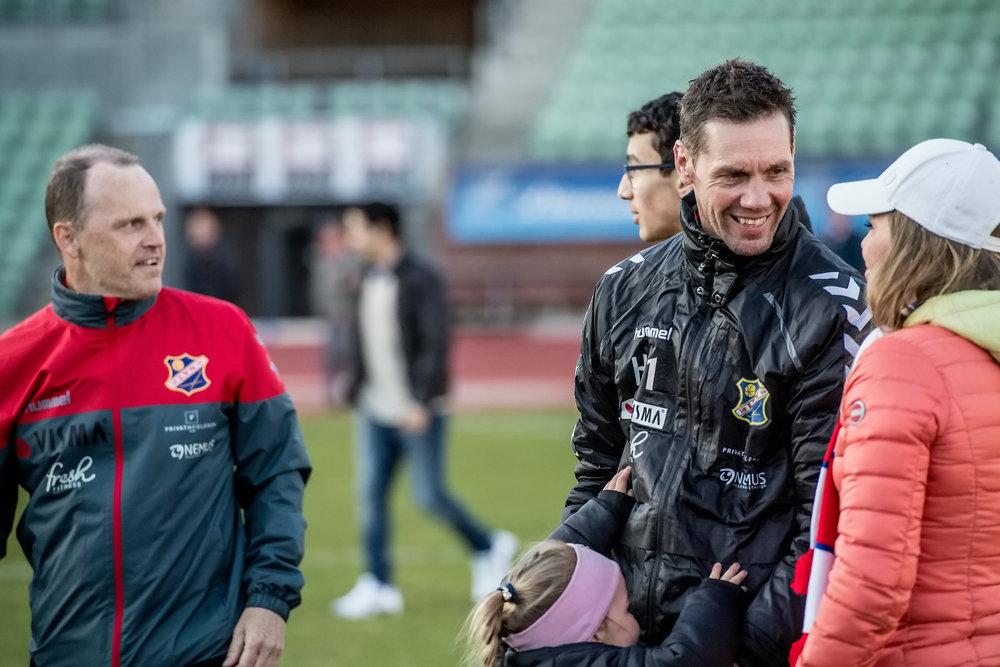 Thomas André Ødegaard kunne smile etter hjemmeseieren mot Eidsvold Turn, i dag ble det mørkere (foto: Lars Opstad, arkiv)