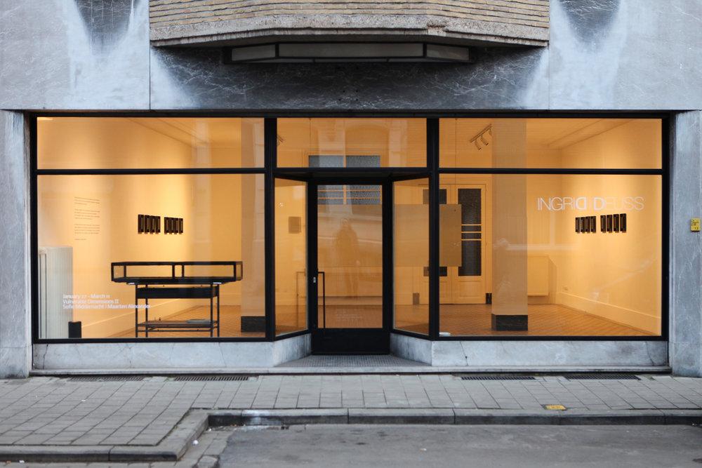 VULNERABLE DIMENSIONS II  - Solo exhibition INGRID DEUSS GALLERY , ANTWERP BELGIUM, MARCH 2017