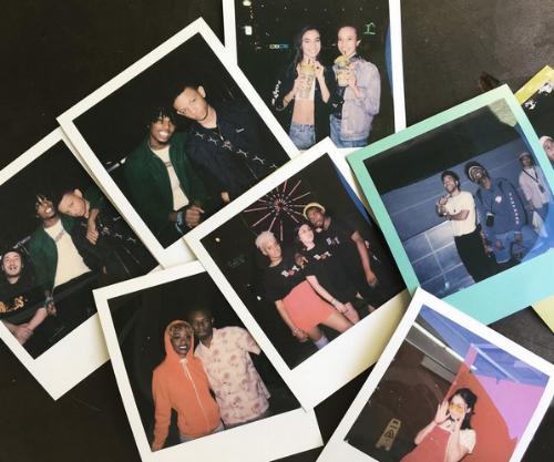 Polaroids taken by Tyra at Camp Flog Gnaw, 2016