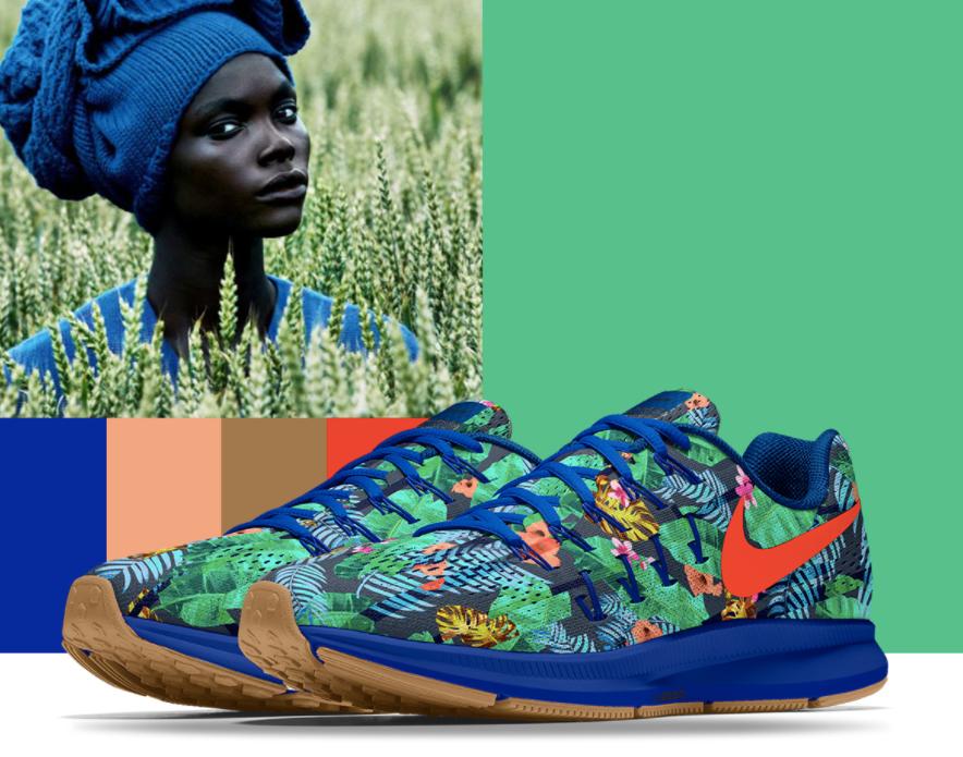 Sneakers designed by Saada for  Nike