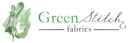 Green Stitch Fabric