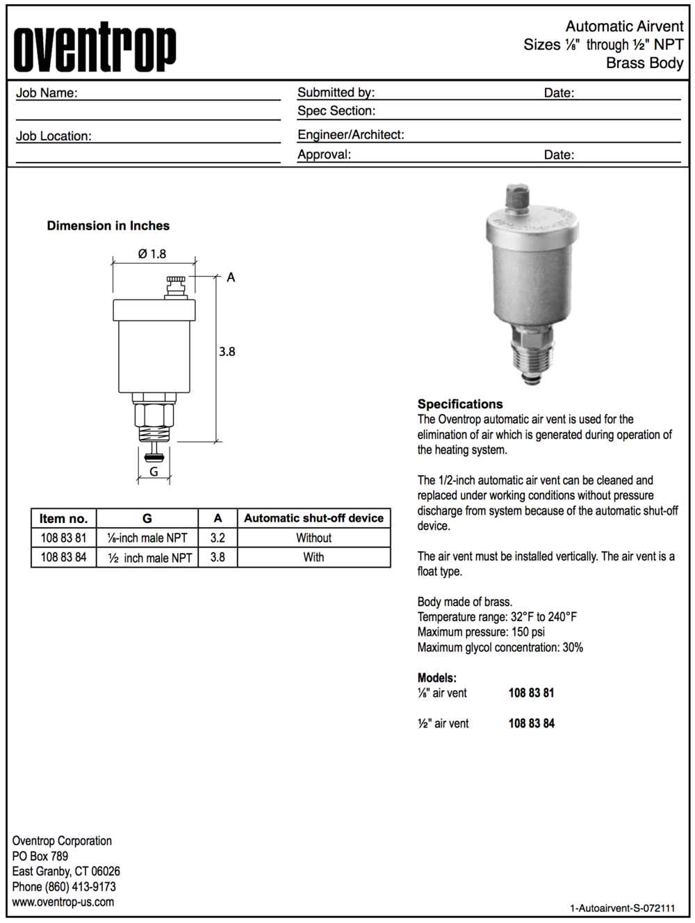 visual product guide oventrop corporation rh oventrop us com Blip Scale User's Guide Pcoket Guide