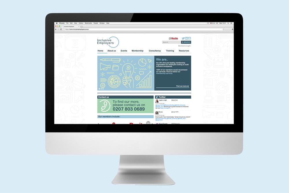 Inclusive Employers website