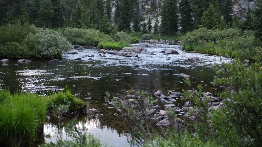 small stream in the wind river range