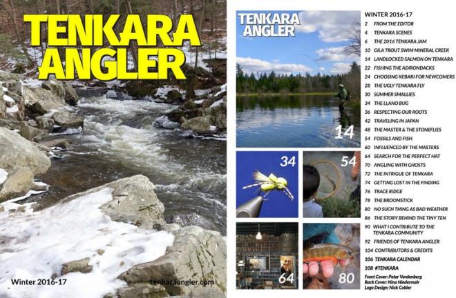 Tenkara Angler Winter 2016-17 Cover