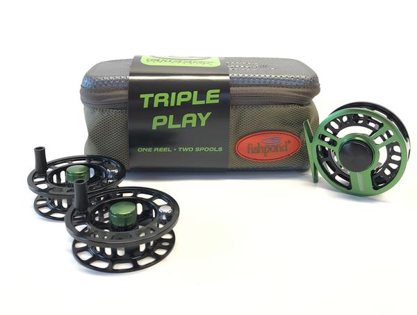 Cheeky Fly Fishing - Triple Play Reel Combo