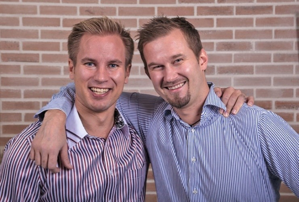 Co-founders of Study Advisory and Asia Exchange, Tuomas Kauppinen (left) and Harri Suominen (right)