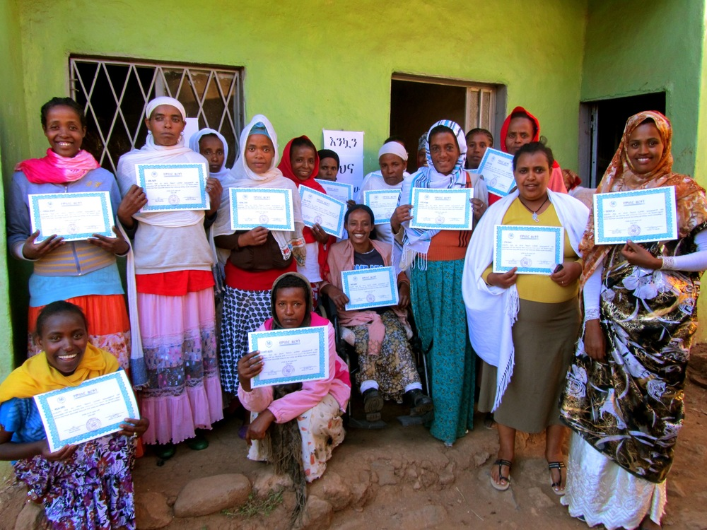 Graduates from our Microfinance Business Training