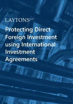 Investment Agreements | Protecting Direct Foreign Investment Using International Investment