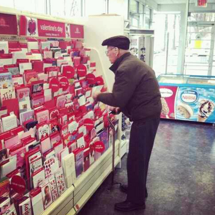 old man valentine