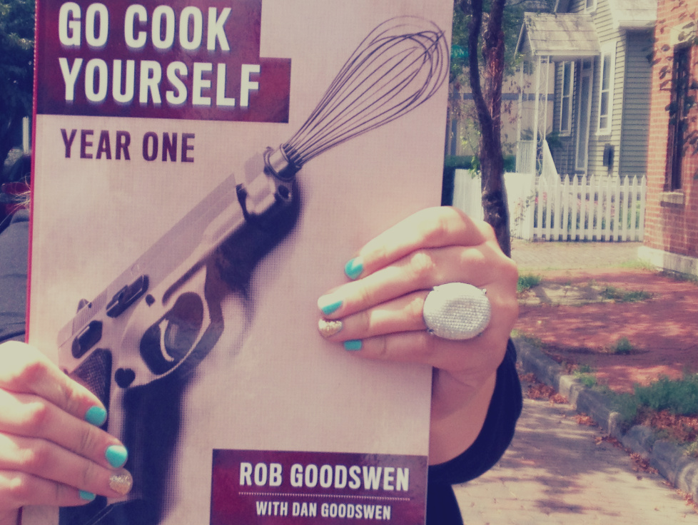 go cook yourself book