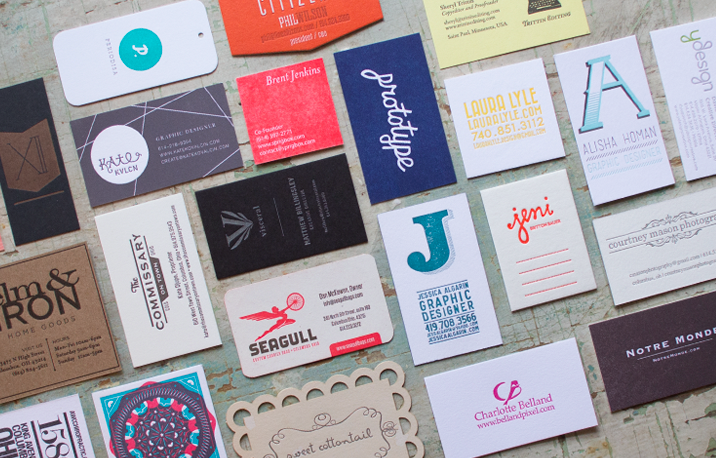 igloo letterpress cards