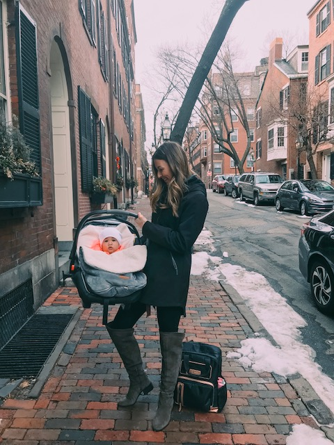 Love exploring Boston with my girl in her cozy    BundleMe   !