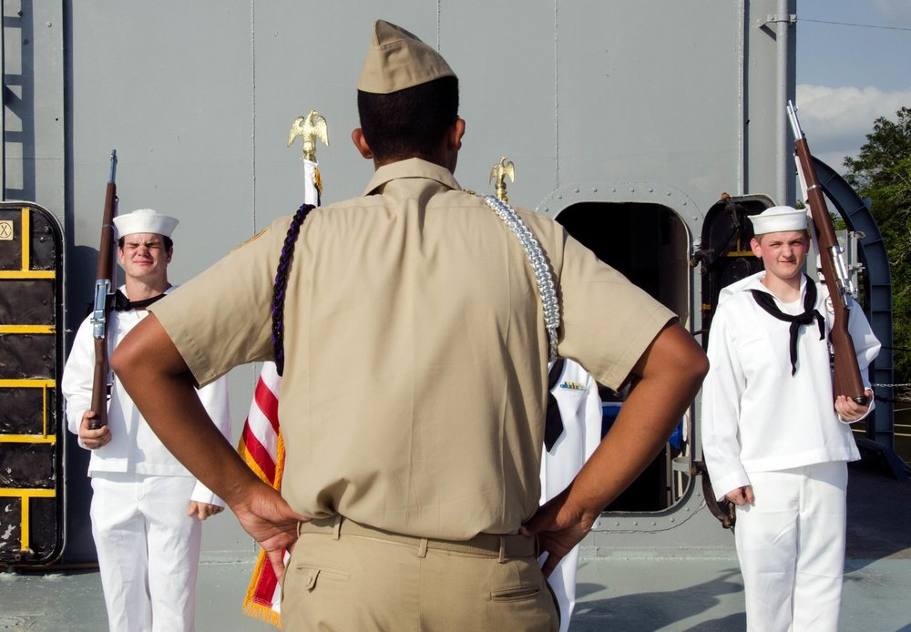 Aboard the USS Orleck Naval Museum. Photo by Pankaj Khadka