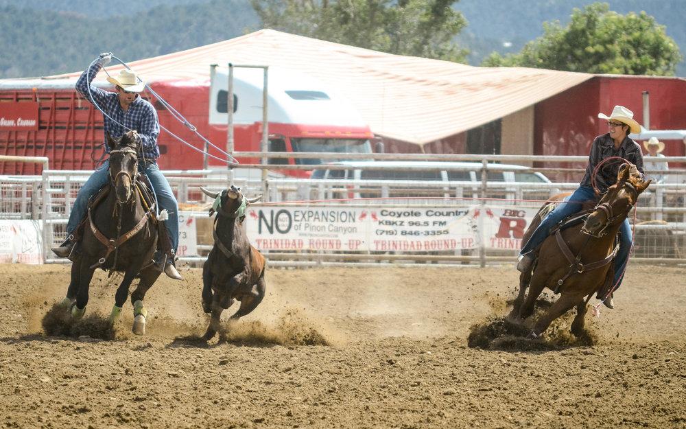 Rodeo scenes from Southeastern Colorado. Photo by Pankaj Khadka