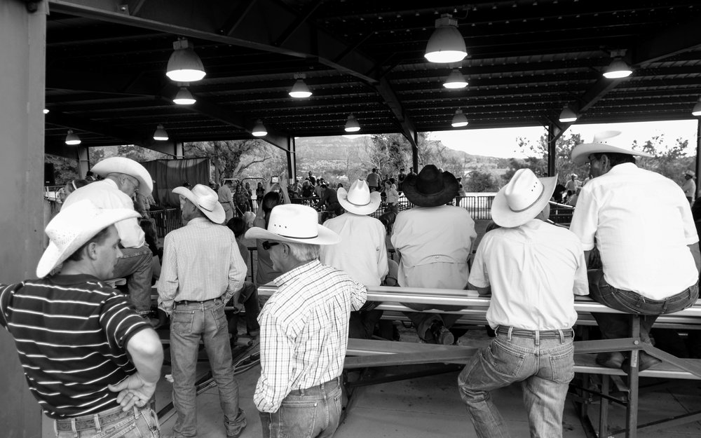 Cowboys at a rodeo in Las Animas County, Colorado. Photo by Pankaj Khadka