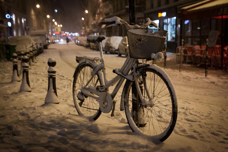 """Résultat de recherche d'images pour """"vélo sous la neige"""""""