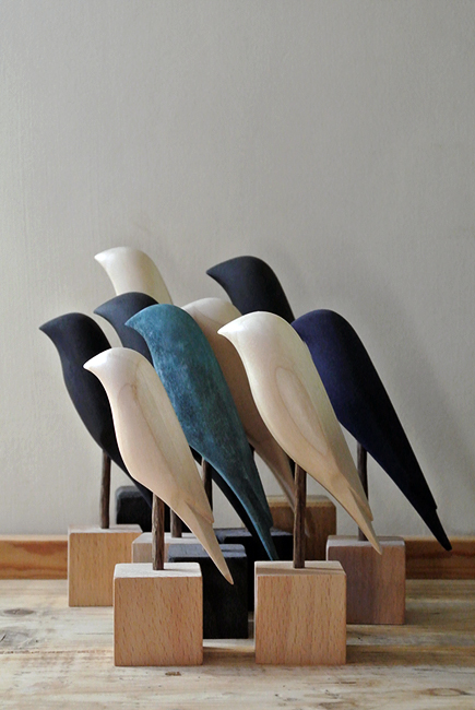 New Birds for 2014 from the Curious Workshop. On sale on Etsy soon.