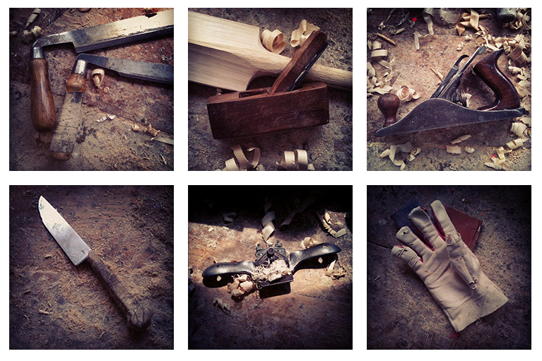 A small series of pictures about my work tools I did for Hole & Corner Magazine recently