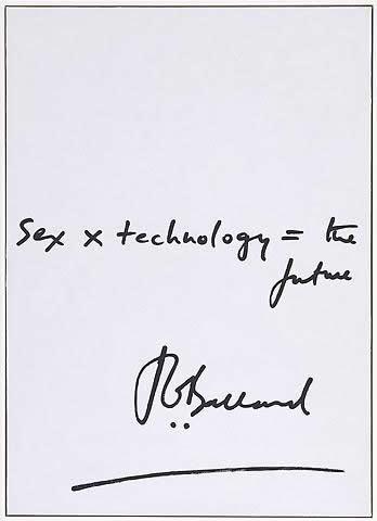 """sex x technology = the future"" JG Ballard (Louis Gréaud. The Future, 2009. Oil on canvas. 57 x 41 inches framed (145 x 104 cm).)"