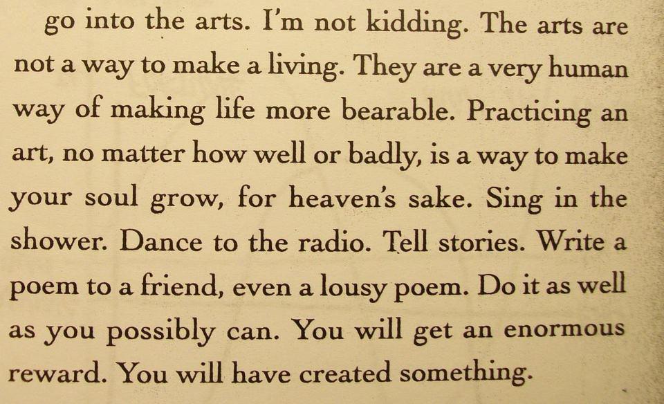 - Kurt Vonnegut(via)