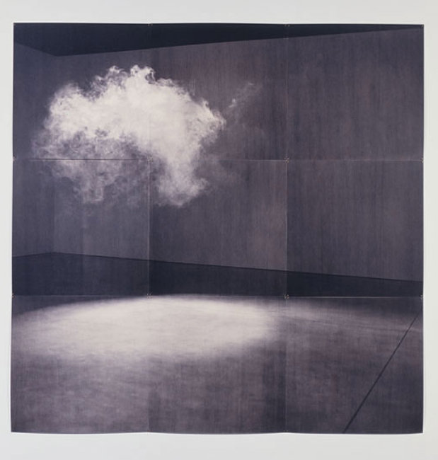 defacedbook: Lorna Simpson Cloud, 2005 Installation (84 x 84 inches)