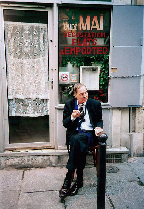 Portrait of William Eggleston (via) (not sure who its by)