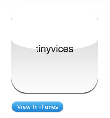 Not sure how I found out about Tim Barber's 'tinyvices' website.