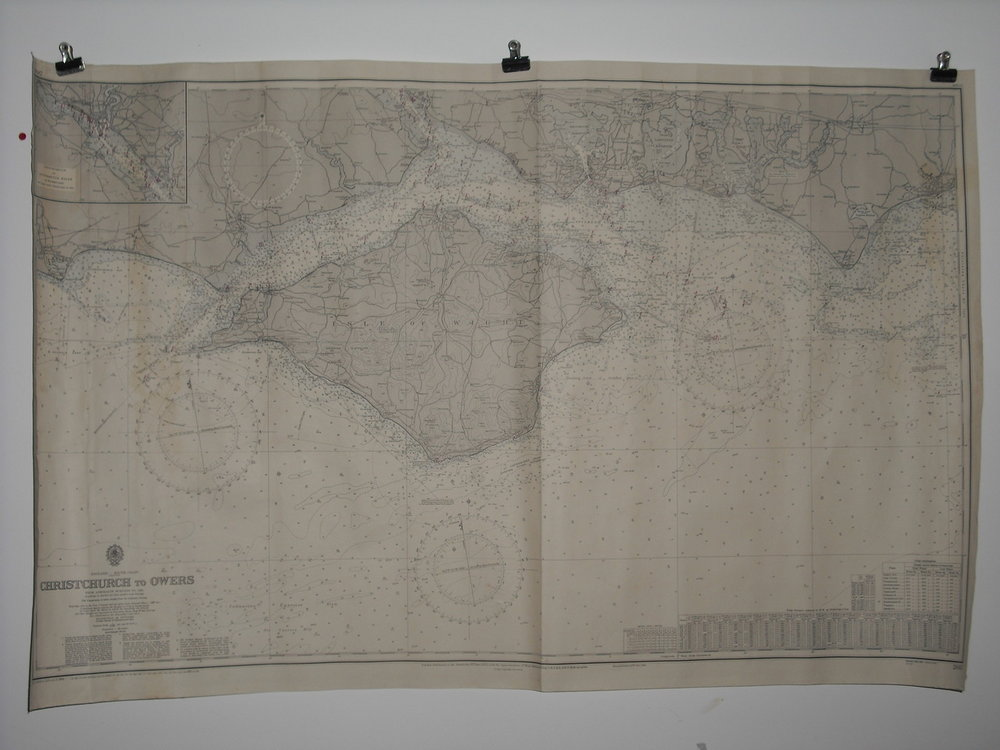 Christchurch to Owers (Sea Chart) (CK. 5th Feb 2010)