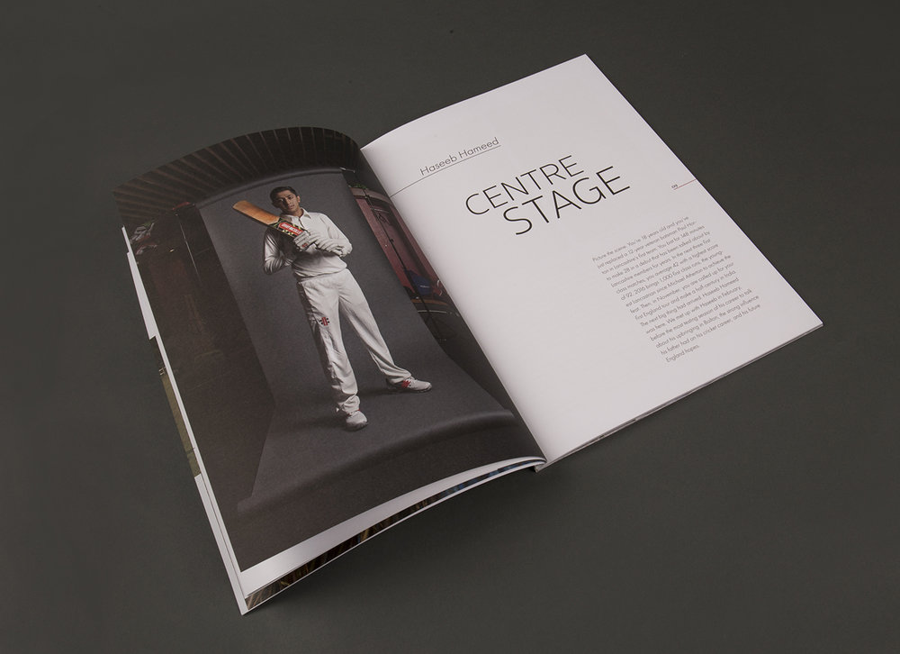 'The Leading Edge' - Photography and Editorial Design by Christopher KIng for Gray-Nicolls