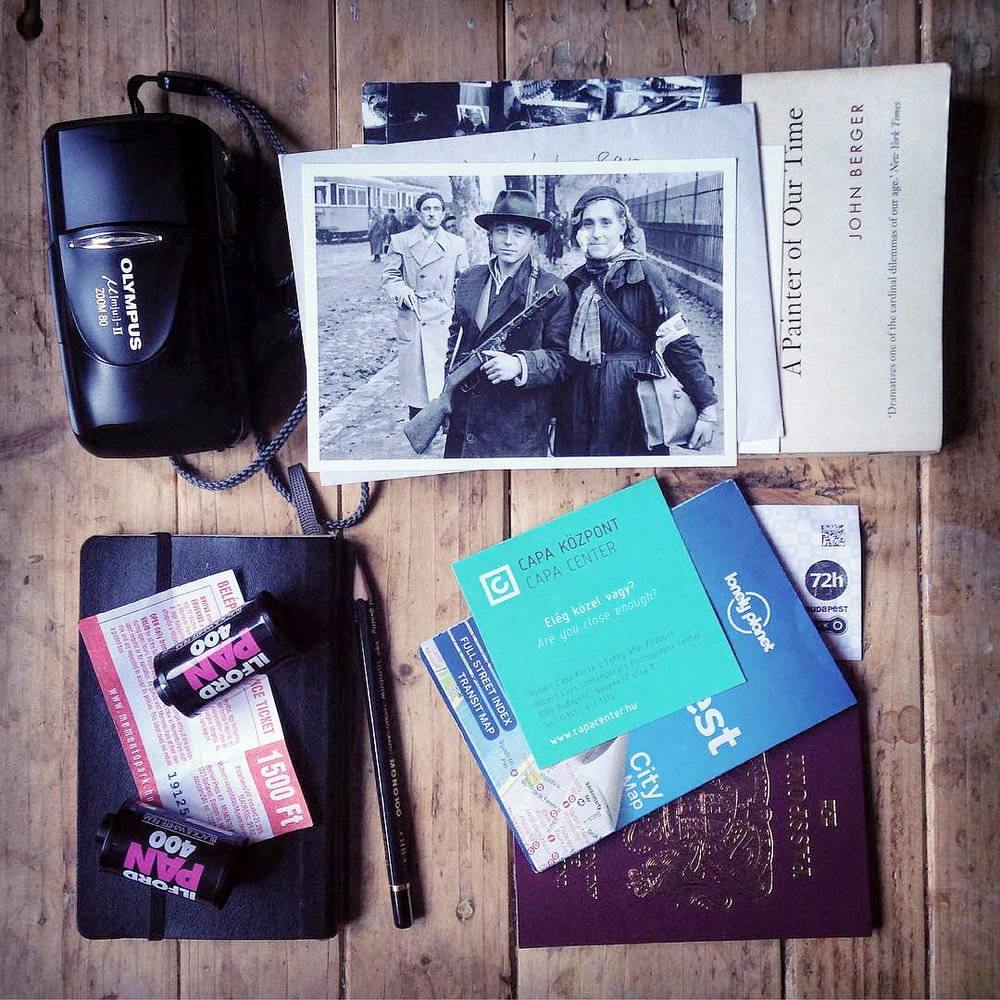 On returning from Budapest [contents of a satchel]