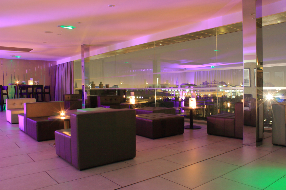 SKYbar Edinburgh Interior