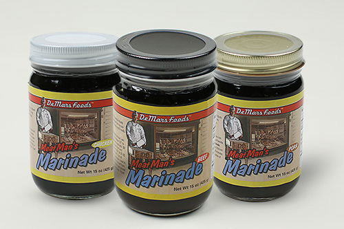 DeMars Foods | MeatMan's Beef, Pork & Chicken Marinades