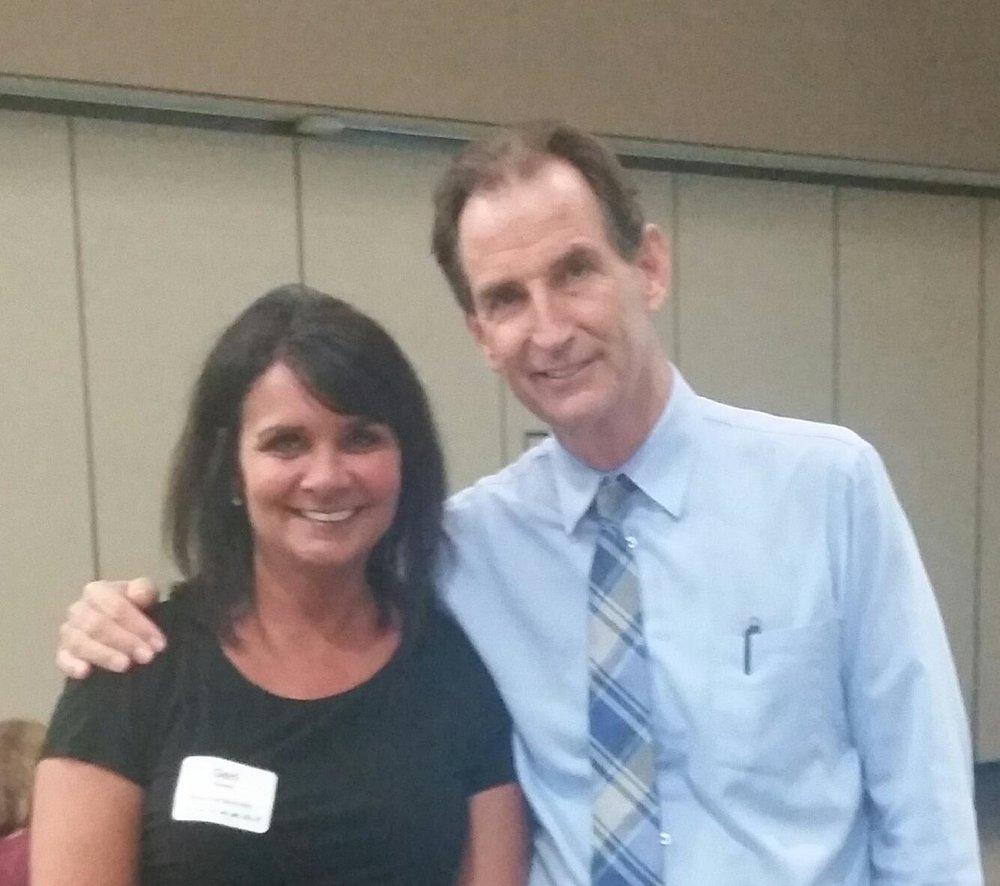 Geri Massey and Dr.Eric Jensen