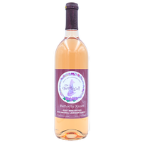 OUR ROSE' Butterfly Kisses is made with a Cabernet Franc grape and is off dry! Super popular!