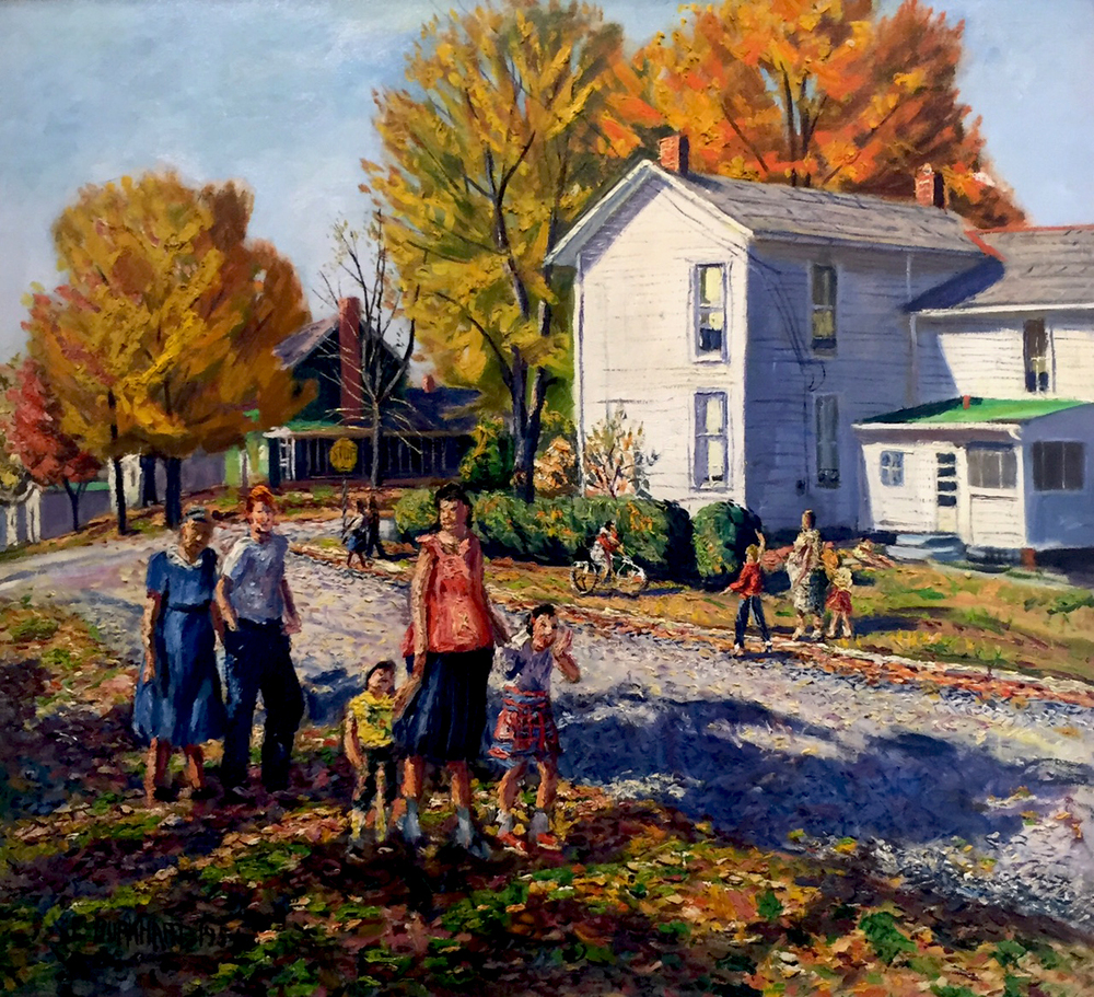 Emerson Burkhart, 'Bright Day in Gahanna,' 1956