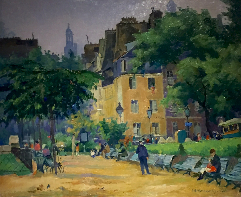 Warshawsky Parisian Street scene.jpg