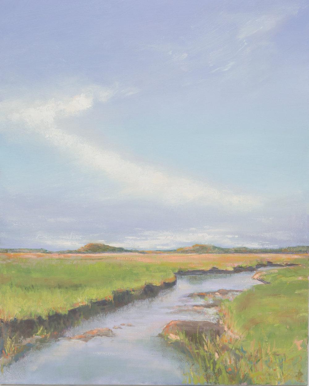 Cape Marsh - 24 x 30 | $1800