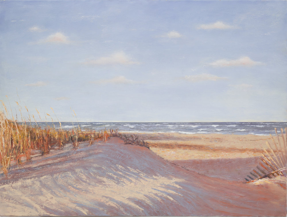 In The Dunes On The Cape - SOLD