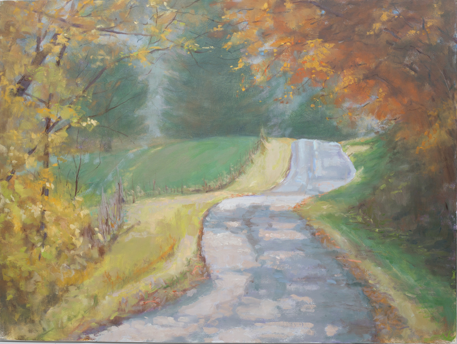 Sunday Drive - 36 x 48 | $3000