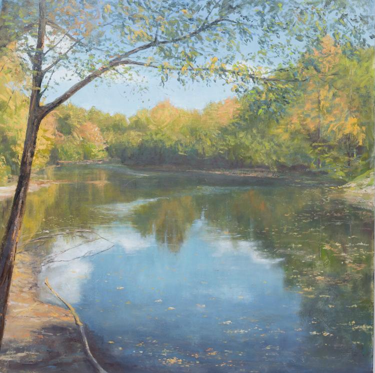 Blacklick Reservoir - 48 x48 | $3500