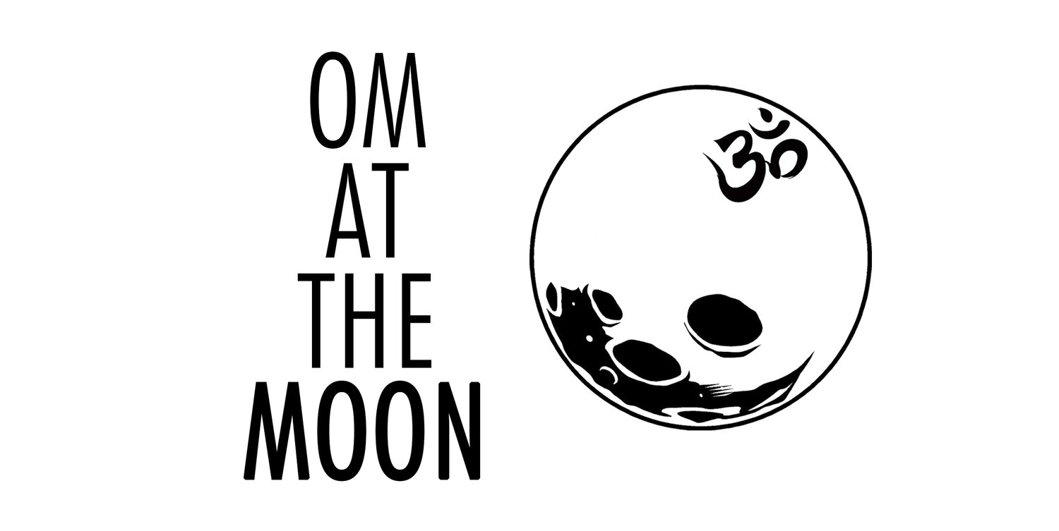 OM AT THE MOON