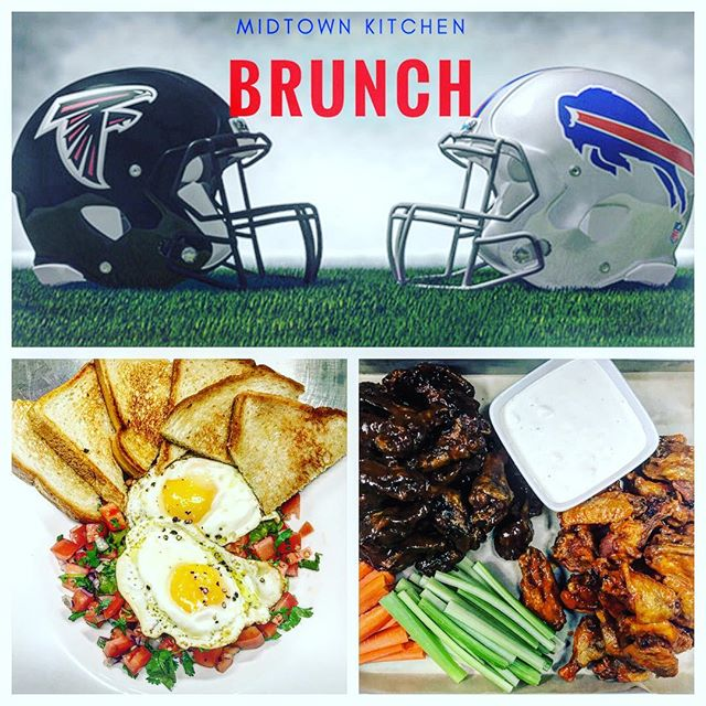 Sunday Brunch Bills vs Falcons! #letsgobuffalo