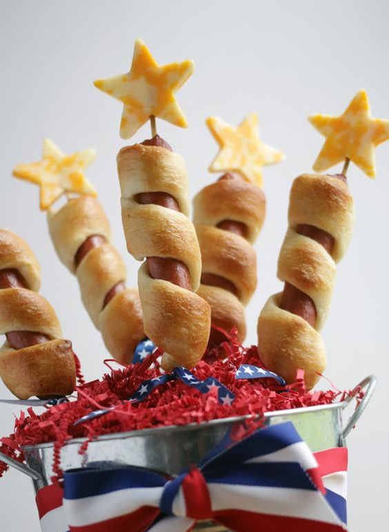 4th Of July Firecracker Dogs