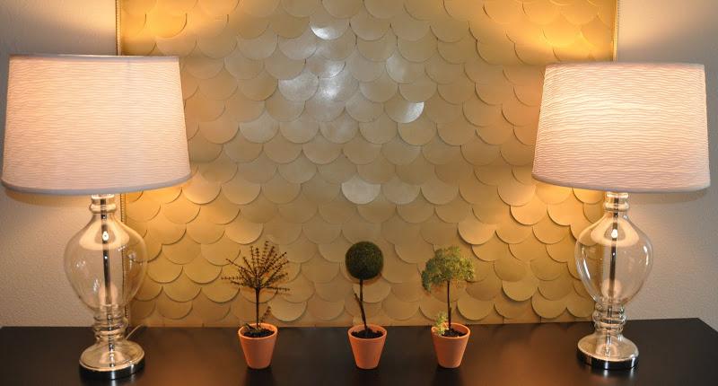 235 Design Gold Wall Art