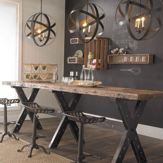 Rustic&Industrial Credit Shades of Light
